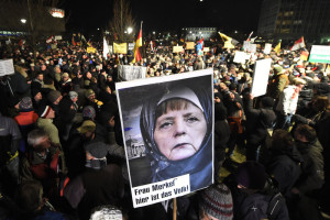 Tensions continue to grow between anti-Islam movement PEGIDA and the German government.